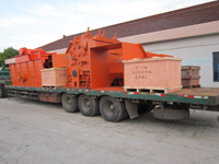 Impact crusher ready for shipping