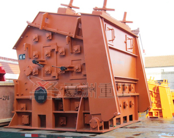 Impact crusher product map