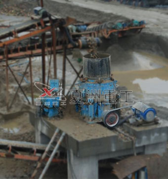 Hydraulic Cone Crusher site operation plans