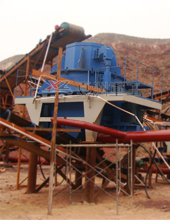 Sand Making on-site operating plans