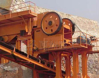 Jaw crusher on-site operating plans