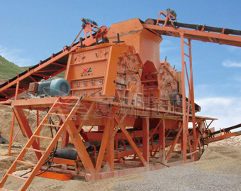 Impact crusher on-site operating plans